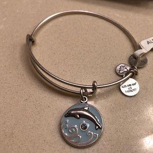 Brand new Alex and Ani dolphin bracelet
